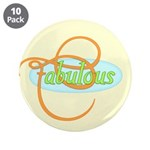 "Fabulous 3.5"" Button (10 pack)"