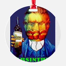 Absinthe Liquor Drink Ornament