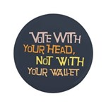 Liberal Voter Large Buttons (100 pk)