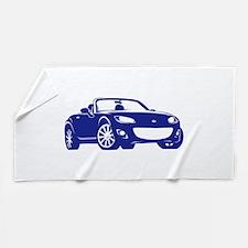 Funny Eunos roadster Beach Towel