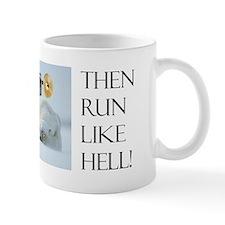 Brave Penguin Coffee Small Mug