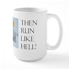 Brave little penguin coffee mug