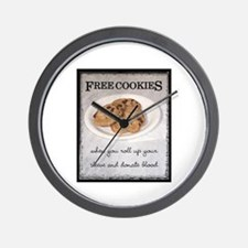 FREE COOKIES -  Wall Clock