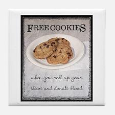 FREE COOKIES -  Tile Coaster
