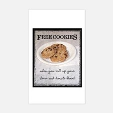 FREE COOKIES - Rectangle Decal