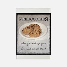 FREE COOKIES - Rectangle Magnet (100 pack)