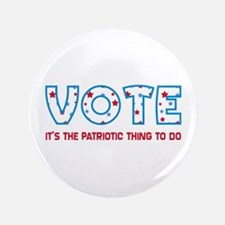 Patriotic Vote Large Buttons (100 pk)