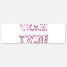 Team TWINS Bumper Bumper Bumper Sticker