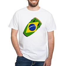 Conga Brazil Flag music Shirt