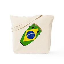 Conga Brazil Flag music Tote Bag