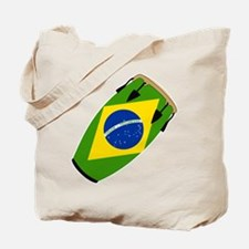 Conga Brazil Flag music Tote Bag