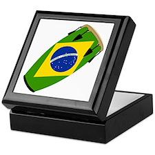 Conga Brazil Flag music Keepsake Box