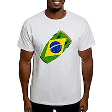Conga Brazil Flag music T-Shirt