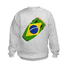 Conga Brazil Flag music Sweatshirt