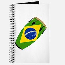 Conga Brazil Flag music Journal