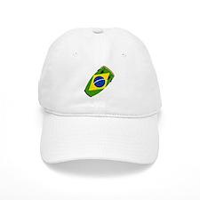 Conga Brazil Flag music Baseball Cap