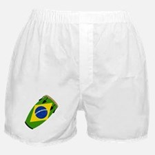 Conga Brazil Flag music Boxer Shorts