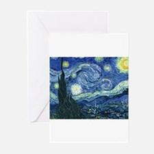Van Gogh Starry Night Greeting Cards