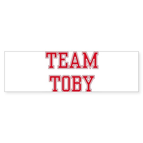 TEAM TOBY Bumper Sticker