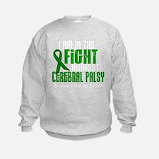 Cute Cerebral palsy green ribbon Sweatshirt