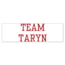 TEAM TARYN Bumper Car Sticker