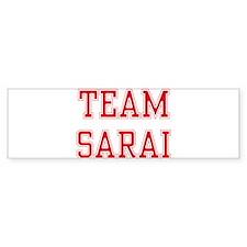 TEAM SARAI Bumper Bumper Sticker