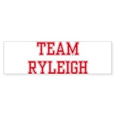 TEAM RYLEIGH Bumper Car Sticker