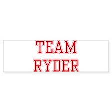 TEAM RYDER Bumper Bumper Sticker