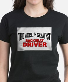"""The World's Greatest Backseat Driver"" Ash Grey T-"