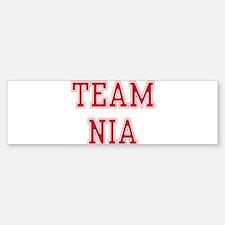 TEAM NIA Bumper Bumper Bumper Sticker