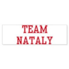 TEAM NATALY Bumper Bumper Sticker