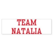 TEAM NATALIA Bumper Bumper Sticker