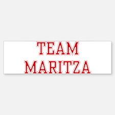 TEAM MARITZA Bumper Bumper Bumper Sticker