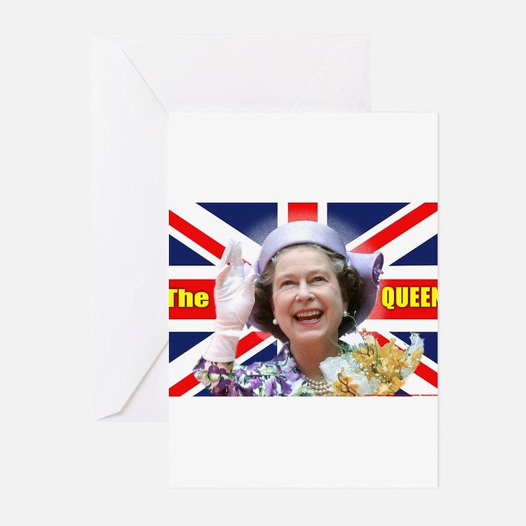 HM Queen Elizabeth II - The Queen Greeting Cards