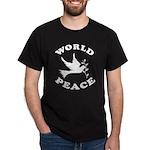 World Peace, Peace and Love. Dark T-Shirt