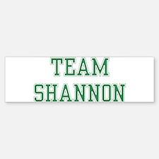 TEAM SHANNON Bumper Bumper Bumper Sticker