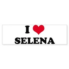 I HEART SELENA Bumper Bumper Sticker