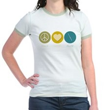 Peace Love Flute T-Shirt