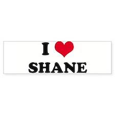 I HEART SHANE Bumper Bumper Sticker
