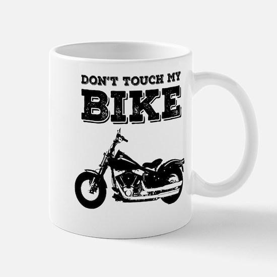 Don't Touch My Bike Mugs