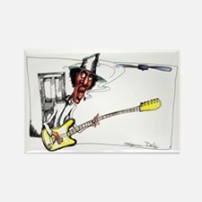Cute Blues music Rectangle Magnet (10 pack)