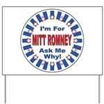 Mitt Romney for President Yard Sign