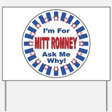 Mitt Romney for President Yard Sign