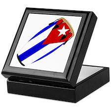 Conga Cuba Flag music Keepsake Box