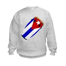 Conga Cuba Flag music Sweatshirt