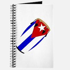 Conga Cuba Flag music Journal