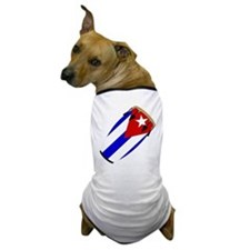 Conga Cuba Flag music Dog T-Shirt