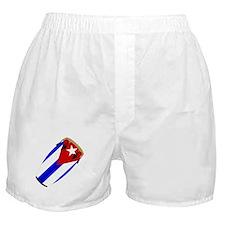 Conga Cuba Flag music Boxer Shorts