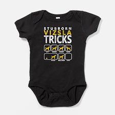 vizsla tricks Baby Bodysuit