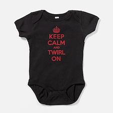 Cute Baton twirling Baby Bodysuit